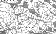 Old Map of Lee Gate, 1897 - 1898