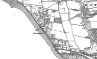 Old Map of Lee-on-the-Solent, 1907
