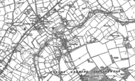Old Map of Leeming, 1891