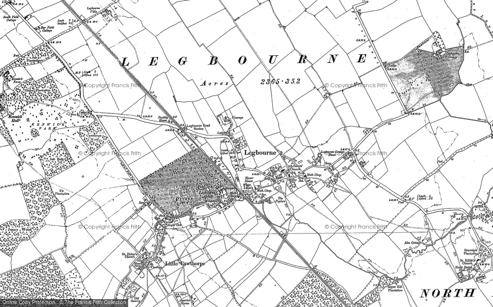 Legbourne, 1886 - 1888