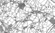 Old Map of Leigh Sinton, 1884 - 1902