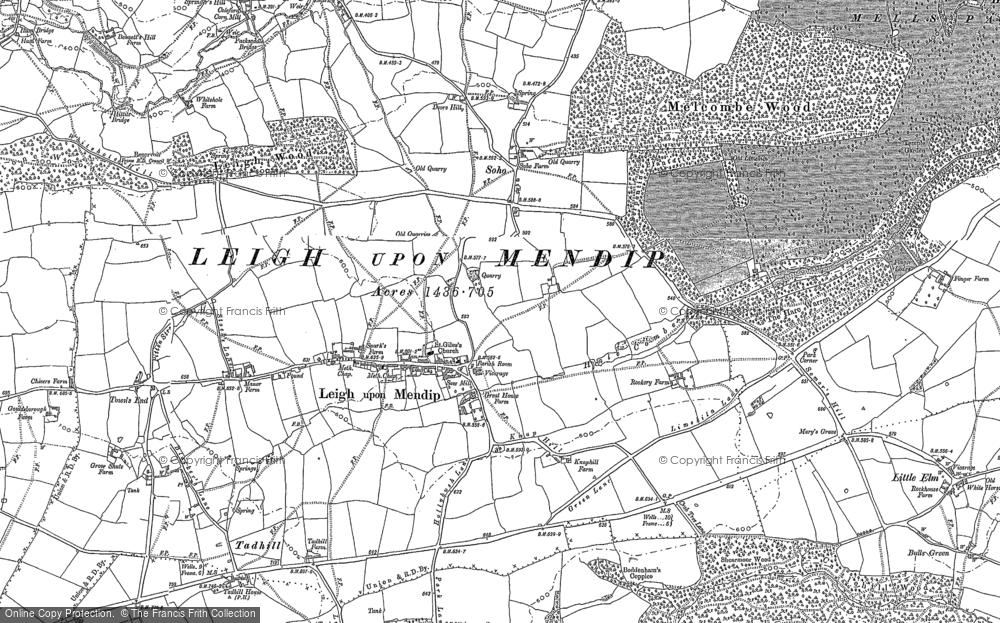 Leigh upon Mendip, 1884