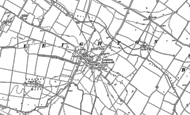 Old Map of Leighton Bromswold, 1887 - 1900