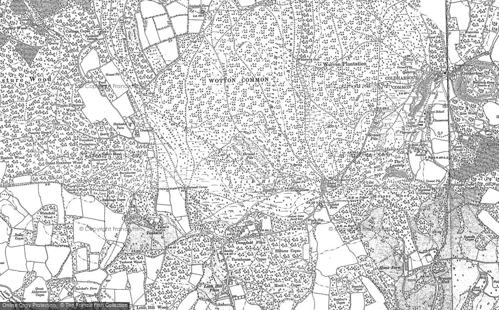 Leith Hill, 1895 - 1913