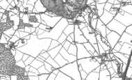 Old Map of Lemsford, 1897