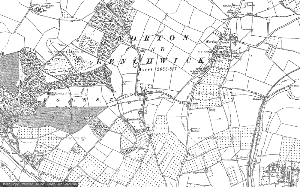 Lenchwick, 1884 - 1885