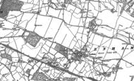 Old Map of Lenham, 1896