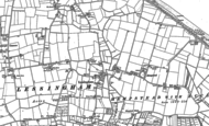 Old Map of Lessingham, 1905