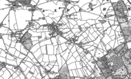 Old Map of Letchmore Heath, 1896 - 1911