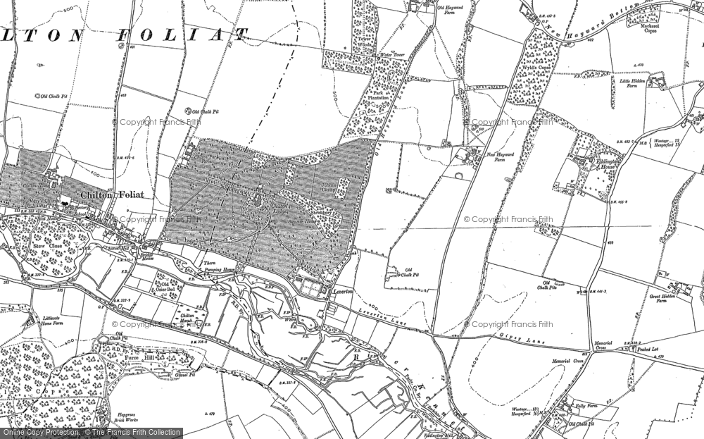Old Map of Leverton, 1899 - 1909 in 1899