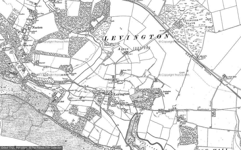 Levington, 1881
