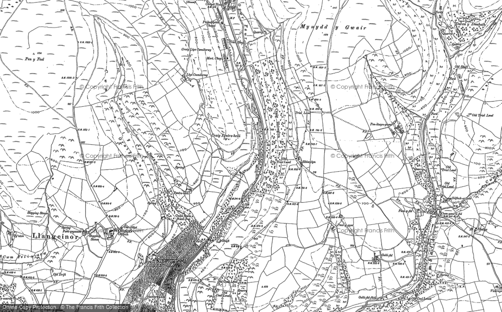 Old Map of Lewistown, 1897 - 1898 in 1897