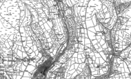 Old Map of Lewistown, 1897 - 1898