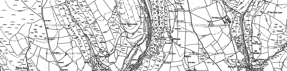 Old map of Lewistown in 1897