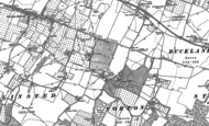 Old Map of Lewson Street, 1896