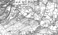 Old Map of Lightwater, 1895 - 1912