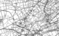 Old Map of Lillesdon, 1886 - 1887