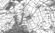 Old Map of Lillington, 1886