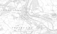 Old Map of Limpley Stoke, 1902