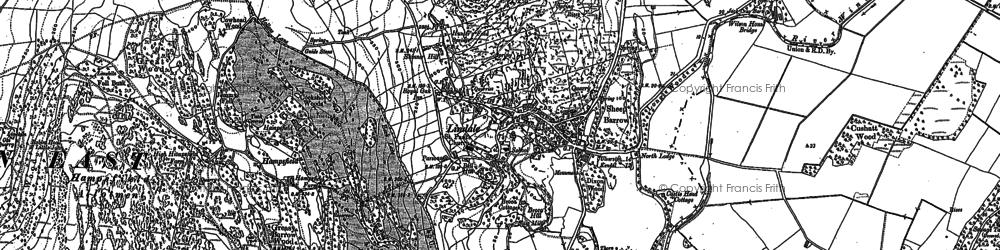 Old map of Lindale in 1911