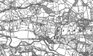 Old Map of Lindridge, 1883 - 1902