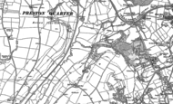 Old Map of Linethwaite, 1923