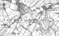 Old Map of Linstock, 1888 - 1899