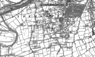 Old Map of Linthorpe, 1913