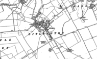 Old Map of Litlington, 1885 - 1901