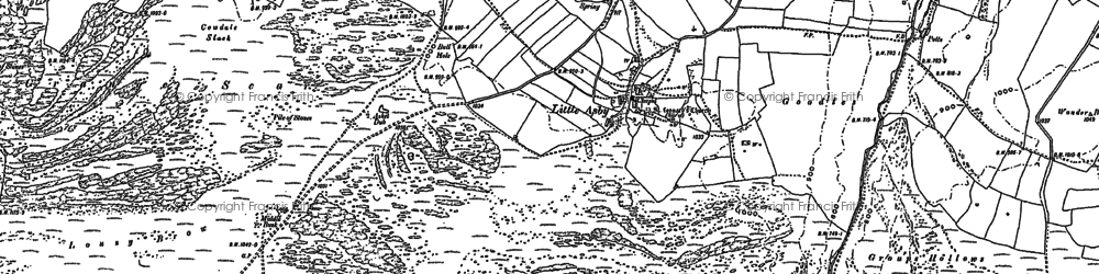 Old map of Whygill Head in 1897
