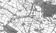 Old Map of Little Bollington, 1897 - 1908