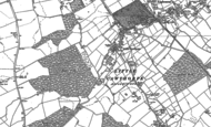 Old Map of Little Cawthorpe, 1886 - 1888