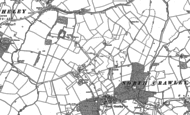 Old Map of Little Crawley, 1899 - 1946