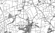 Old Map of Little Dalby, 1902