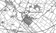 Old Map of Little Faringdon, 1896 - 1901