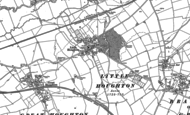 Old Map of Little Houghton, 1884