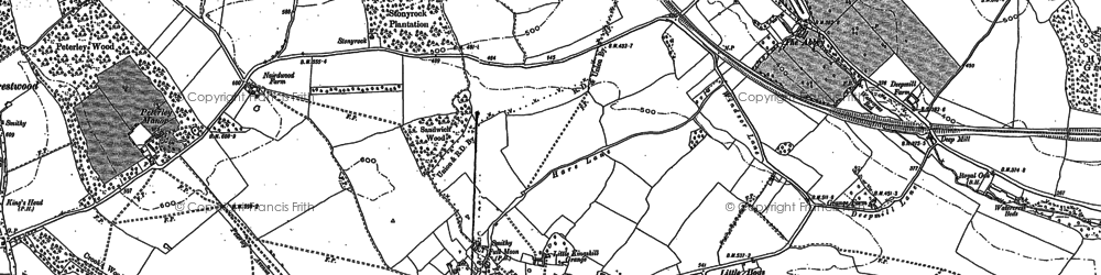 Old map of Little Kingshill in 1897