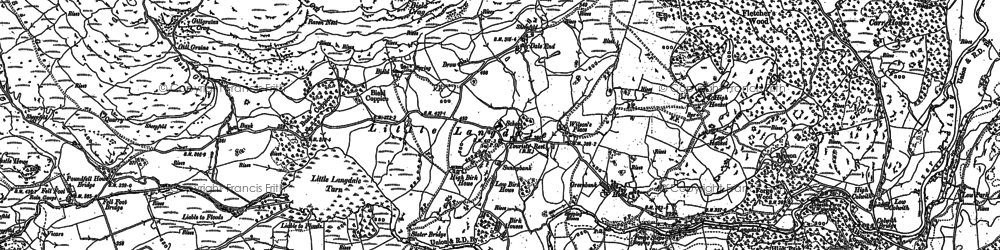 Old map of Wilson Place in 1912