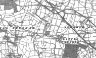 Old Map of Little Lawford, 1886 - 1903