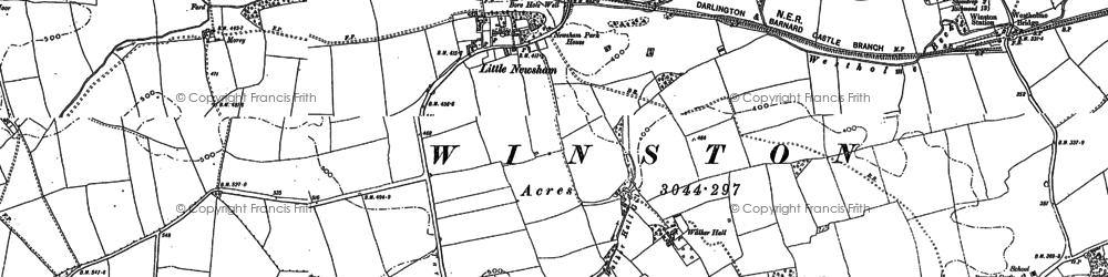 Old map of Whorlton High Grange in 1896