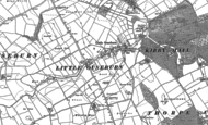 Old Map of Little Ouseburn, 1892