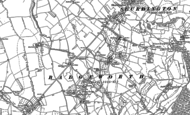 Old Map of Little Shurdington, 1883 - 1884