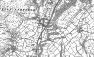 Old Map of Little Stretton, 1882 - 1883
