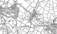 Old Map of Little Stukeley, 1885 - 1887