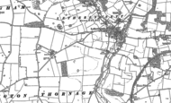 Old Map of Little Thornage, 1885 - 1901