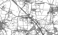 Old Map of Little Wymondley, 1896 - 1897