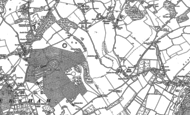 Old Map of Littlestead Green, 1886 - 1887