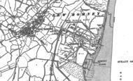 Old Map of Littlestone-on-Sea, 1906