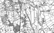 Old Map of Littlethorpe, 1890