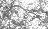 Old Map of Littleworth, 1883
